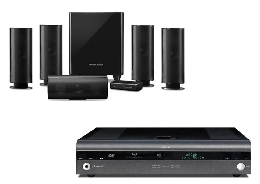 ARCAM SOLO MOVIE 5.1 + KEF T205