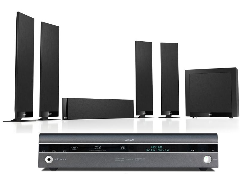 Arcam Solo Movie 5.1 + KEF T305